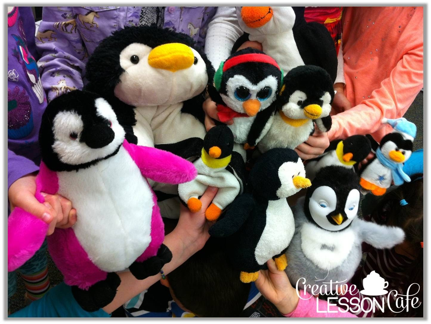 Creative Lesson Cafe Wacky Tacky The Penguin Fun