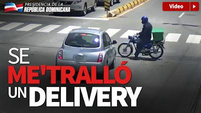 Vídeo: Se me'tralló un delivery