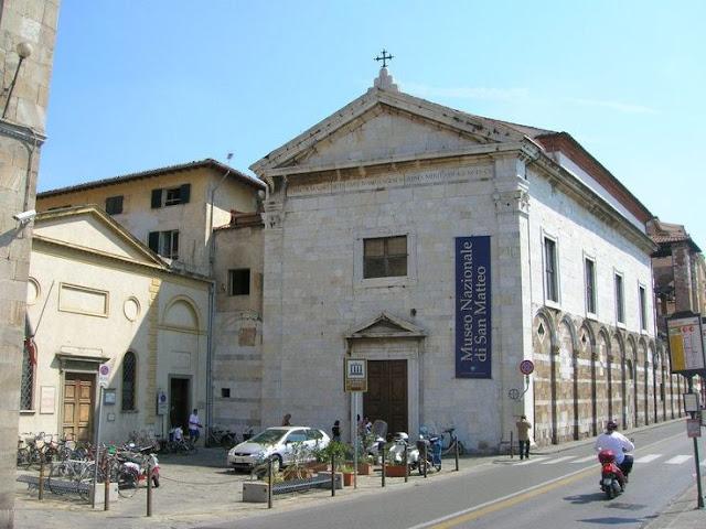 Ponto turístico Museo Nazionale di San Matteo em Pisa