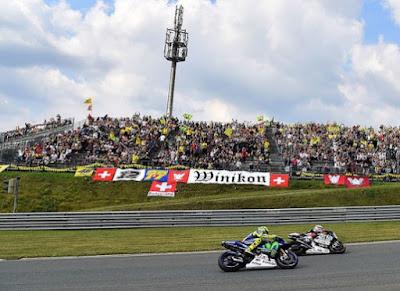 Jelang Balapan GP Jerman, Rossi Akui Sulit Kalahkan Marquez