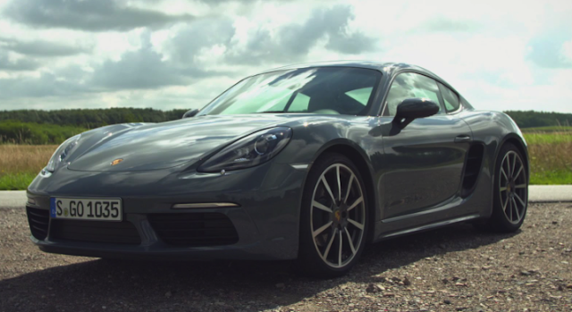 Review Porsche 718 Cayman Manual Car and Driver