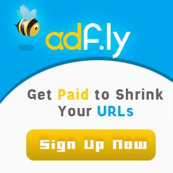 Menggunakan shorten links AdF.ly kamu akan dibayar