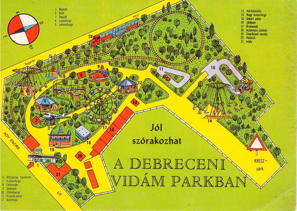 Debreceni Képeslapok: A régi vidámpark
