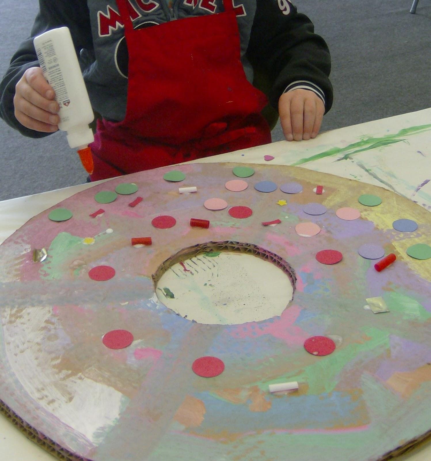 Blackfoot Art Center Giant Donuts