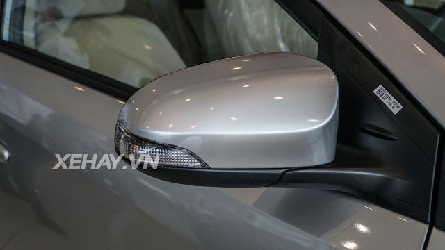 vios 15e cvt 7 - Cận cảnh Toyota Vios 1.5E CVT mới ra mắt Việt Nam