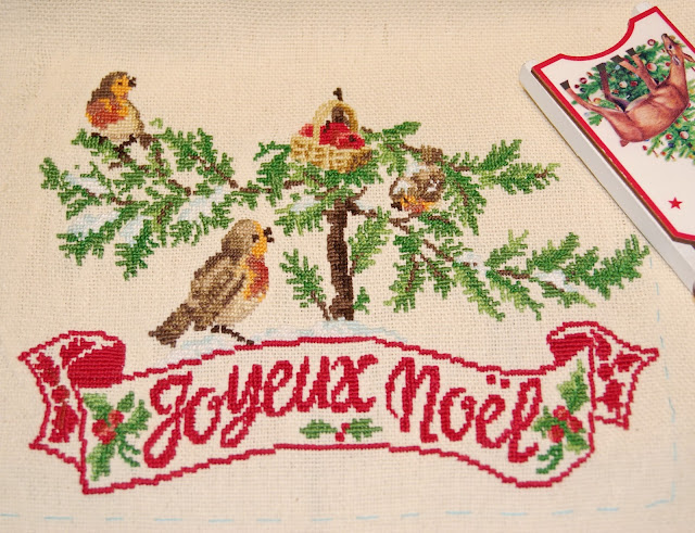 Mon beau sapin - Les brodeuses parisiennes, вышивка новогодняя, елка, французская вышивка, парижские вышивальщицы, вышивка крестиком