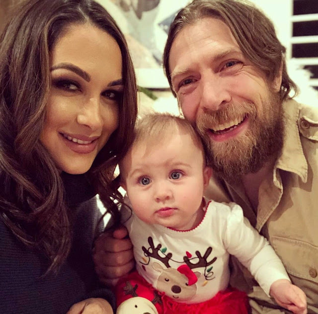 Daniel Bryan Wife, Child and Family
