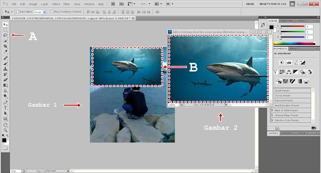 Cara Edit Foto Ikan Melayang di Atas Langit Menggunakan Photoshop