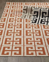 Custom flat-weave carpets and rugs in wool
