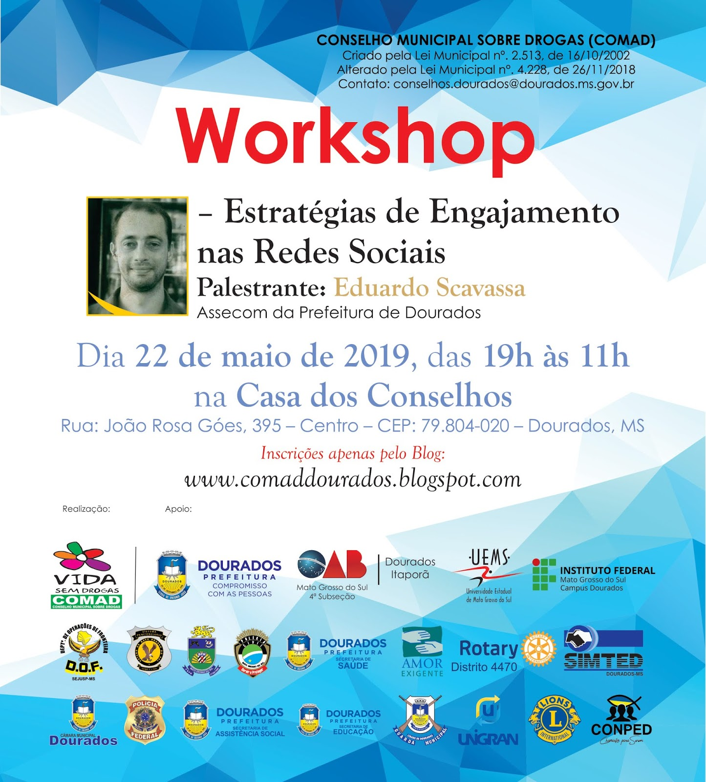 Workshop sobre Redes Sociais