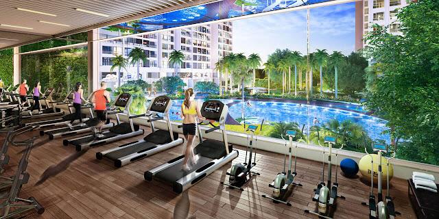 Phòng tập Gym dự án Louis City