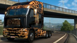 Jaguar skin for Freightliner Argosy Reworked
