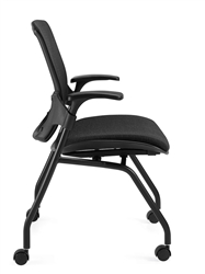 Side View of Roma Nesting Chair at OfficeAnything.com