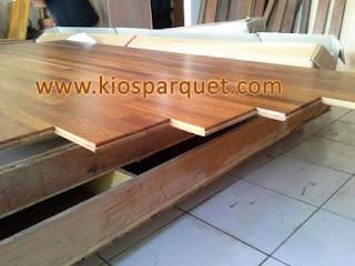 flooring parquet merbau