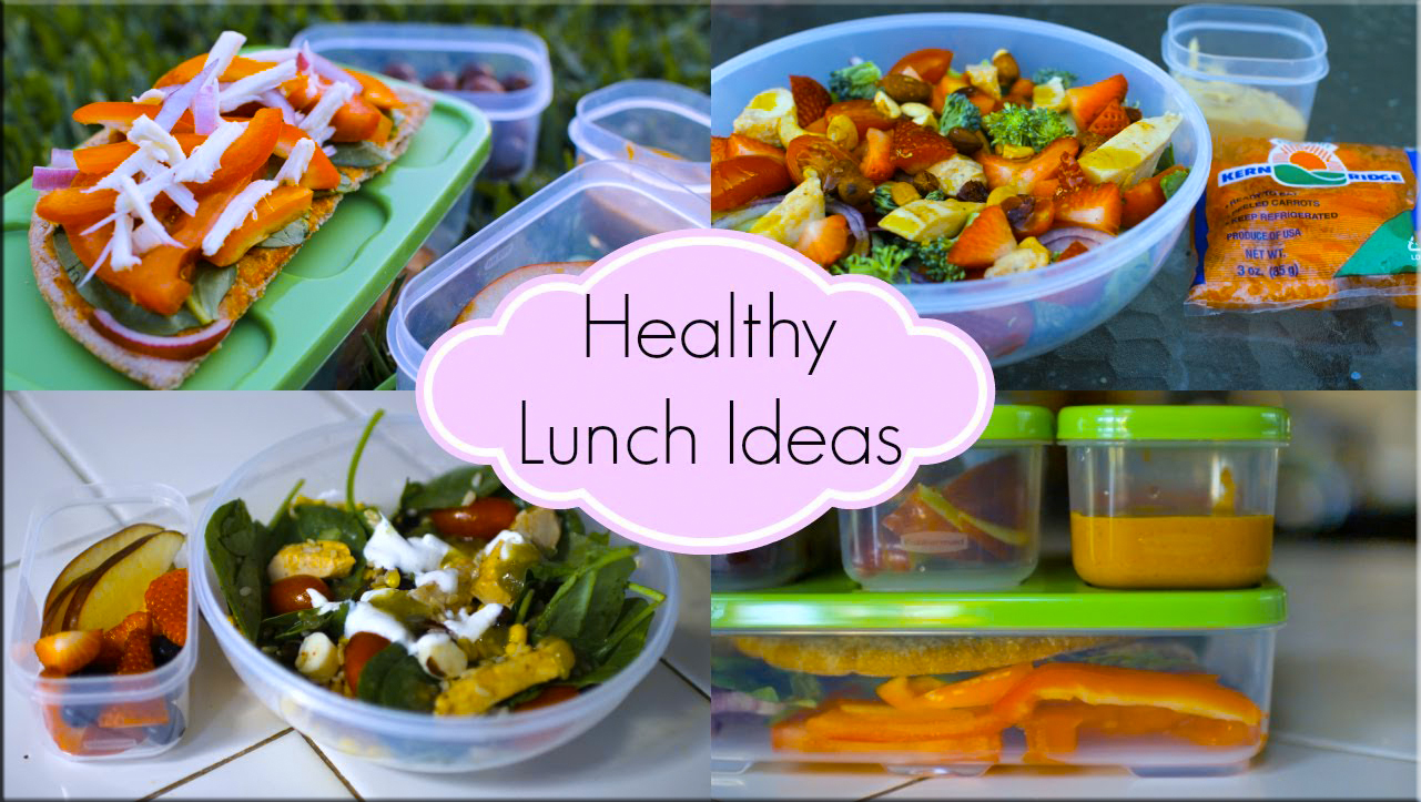 healthy lunch ideas quick