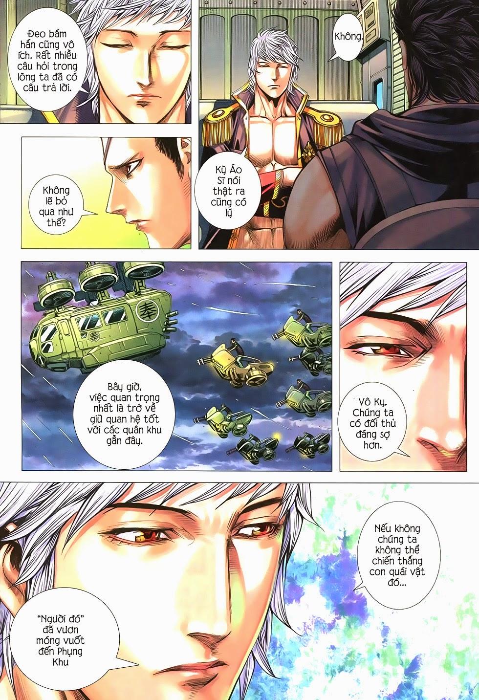 Đại Quân Phiệt chap 21 trang 15