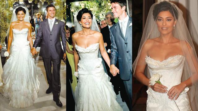 vestido de noiva juliana paes