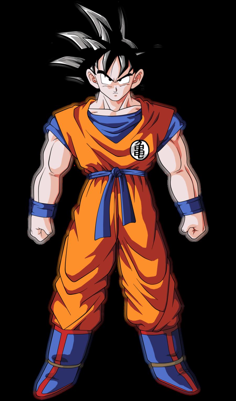 gambar Son Goku setelah dewasa