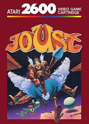Portada de Joust para Atari