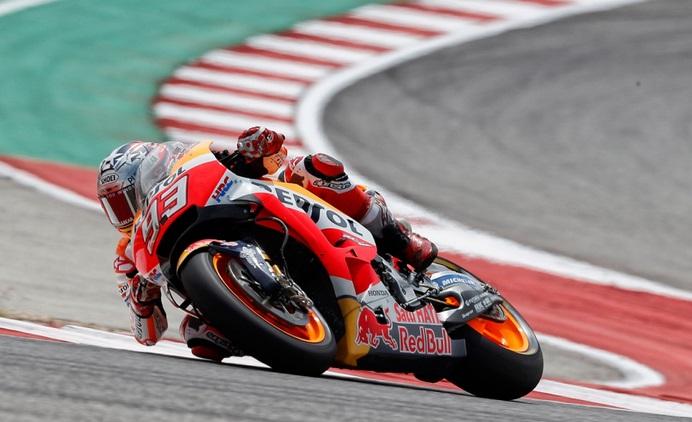 Hasil Kualifikasi MotoGP Amerika: Marc Marquez Tak Bosan-Bosan Bikin Rekor!