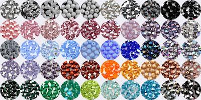 6mm fasettihiotut särmikkäät Tsekkiläiset lasihelmet - korutarvikkeet