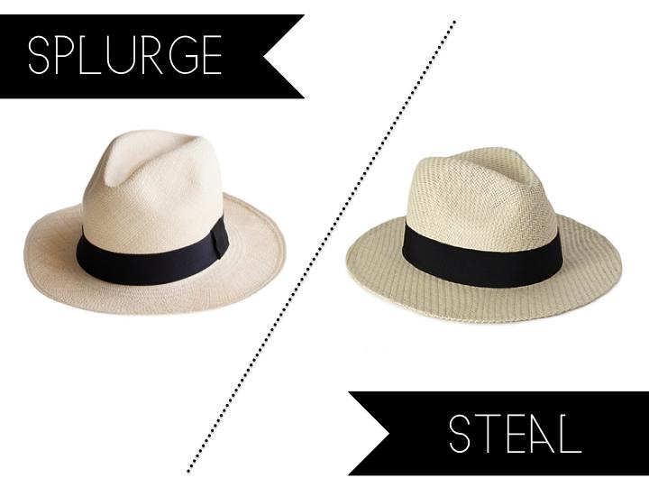 Confetti and Stripes  splurge vs steal sunday  jcrew panama hat dc5ed8050ef