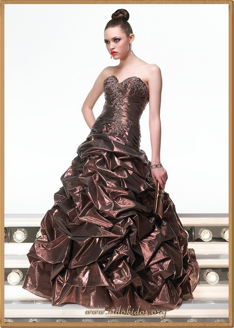Sparkling Fashion Most Beautiful Women: Sparkling Fashion: Rose Dresses