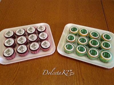 cupcake con logo