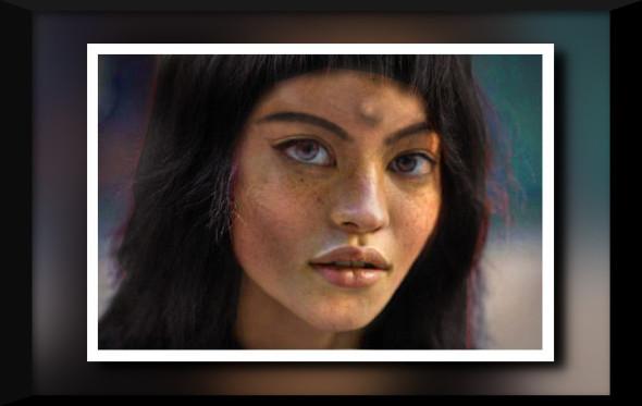 El retrato que Leonov hizo de Mona Lisa