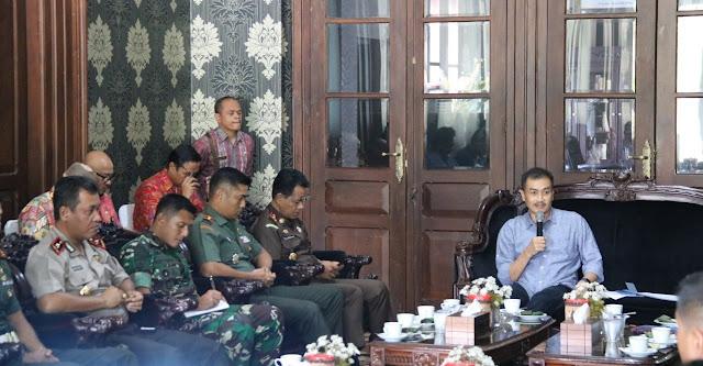 Sambut Pilpres 2019, Danyonif MR 411 Kostrad Berharap  Warga Salatiga Guyub Rukun