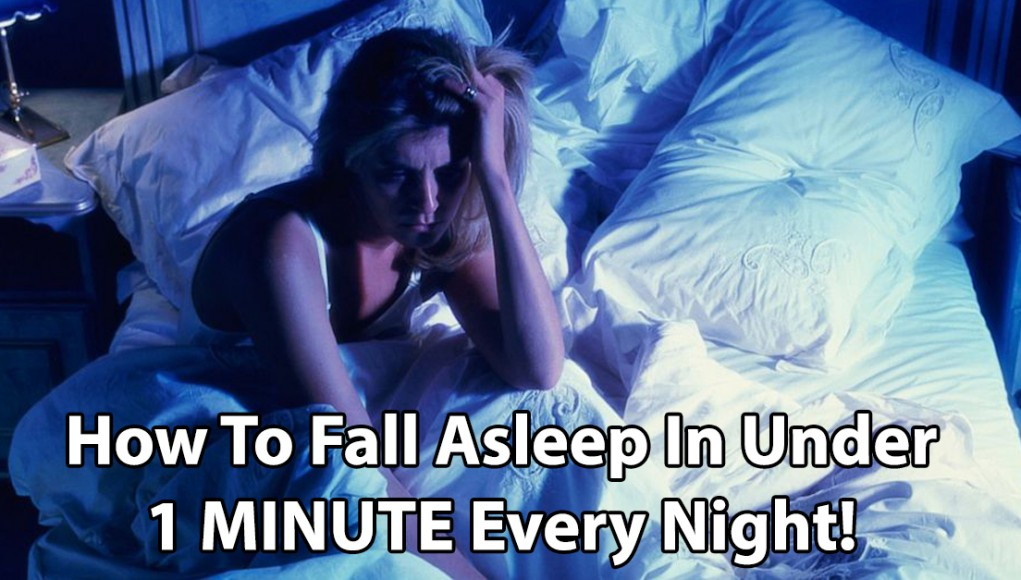 fall alsleep in one minute