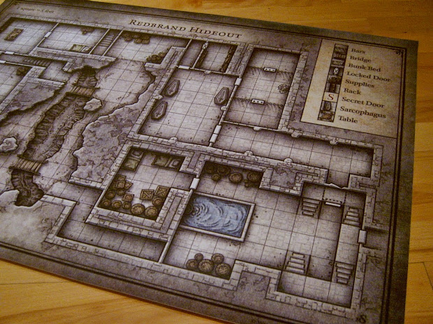 image about Redbrand Hideout Map Printable named Purple Model Hideout Map Poster - Researching Mars