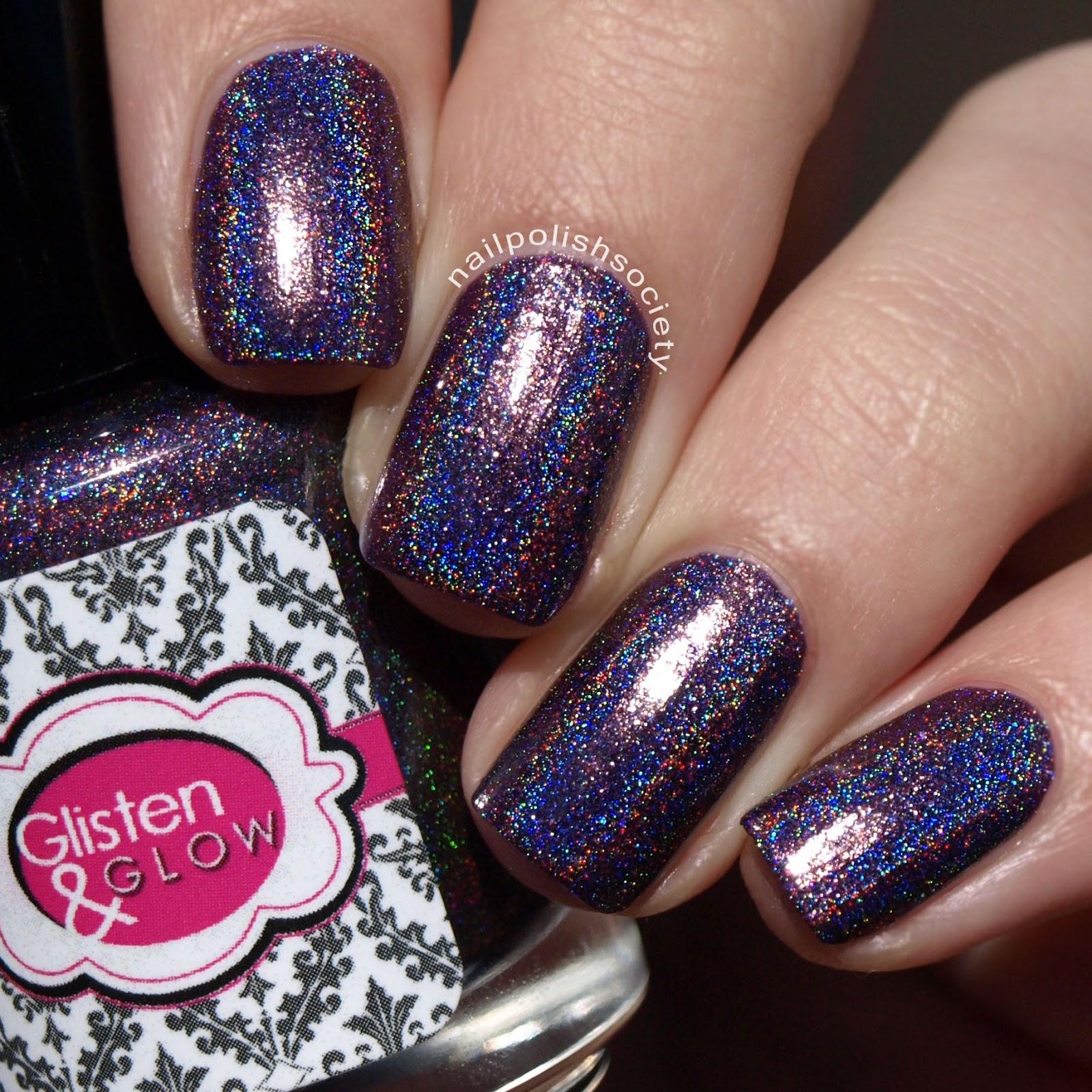 Nail Polish Society: Glisten and Glow Group Customs Budding Blossoms ...