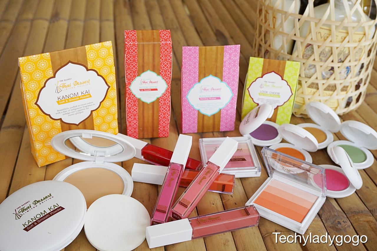 เมคอัพขนมไทย หอมหวาน น่ารัก น่าใช้ น่ากิน THE BAKERY Thai Dessert Limited Edition by Beauty Buffet