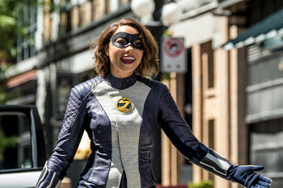"""The Flash -- """"Nora"""" -- Image Number: FLA501b_0054b.jpg -- Pictured: Jessica Parker Kennedy as XS -- Photo: Katie Yu/The CW -- © 2018 The CW Network, LLC. All rights reserved"""