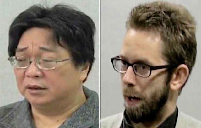 Gui Minhai e Peter Dahlin foram forçados a 'confessar' pela TV chinesa.