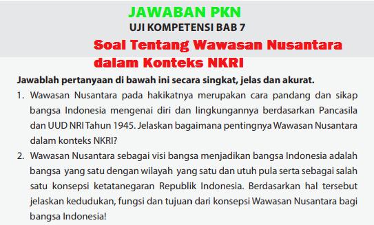 Soal Dan Jawaban Wawasan Nusantara Dalam Konteks Nkri Guru Paud