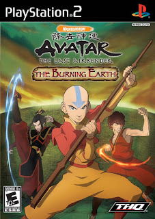 Avatar The Last Airbender- The Burning Earth - PS2