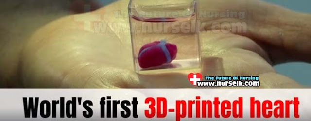 Human heart from the 3D printer