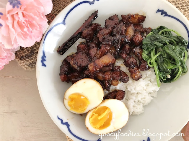 Lu Rou Fan 滷肉饭 recipe