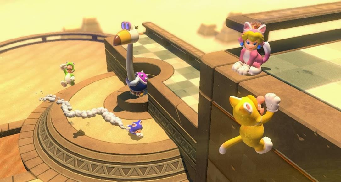 Super mario world 3d gameplay : Vitality spa