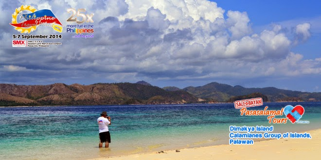 The 25th Philippine Travel Mart: Dimakya Island Calamianes Group of Islands Palawan Pasasalamat Tour