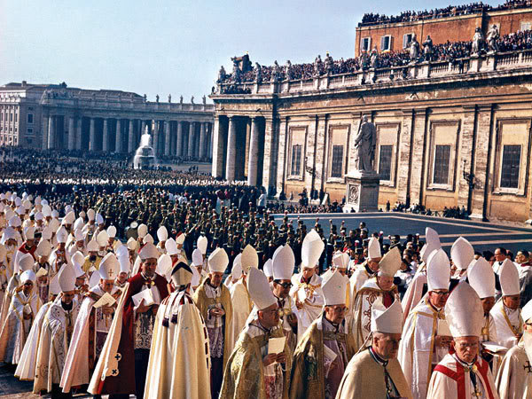 Image result for catholic closing procession