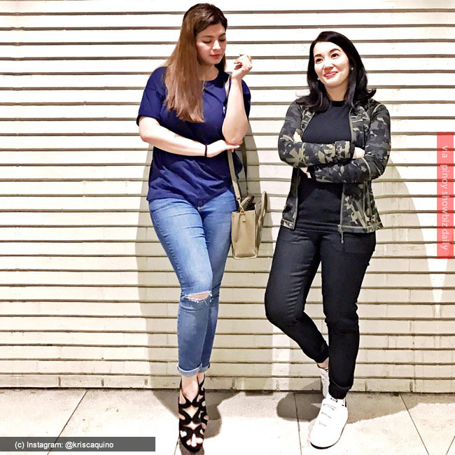 Kris Aquino and Angel Locsin go on shopping together