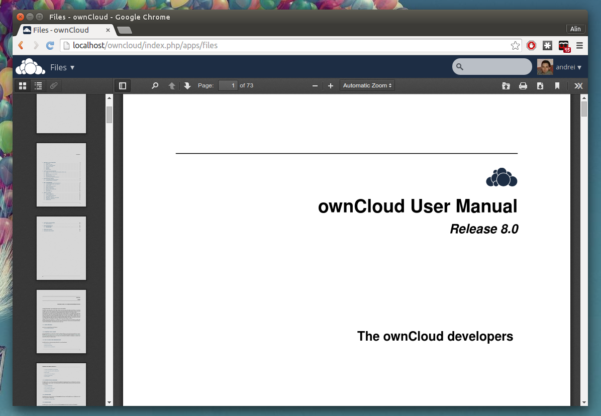 Install owncloud on centos server gui, owncloud download older