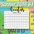 Planner 2018 #14: Controle as contas da sua casa (download gratuito)