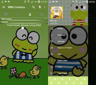 BBM MOD Green Kerropi 2.11.0.18 apk