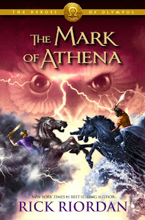 The Mark of Athena, Heroes of Olympus, Rick Riordan