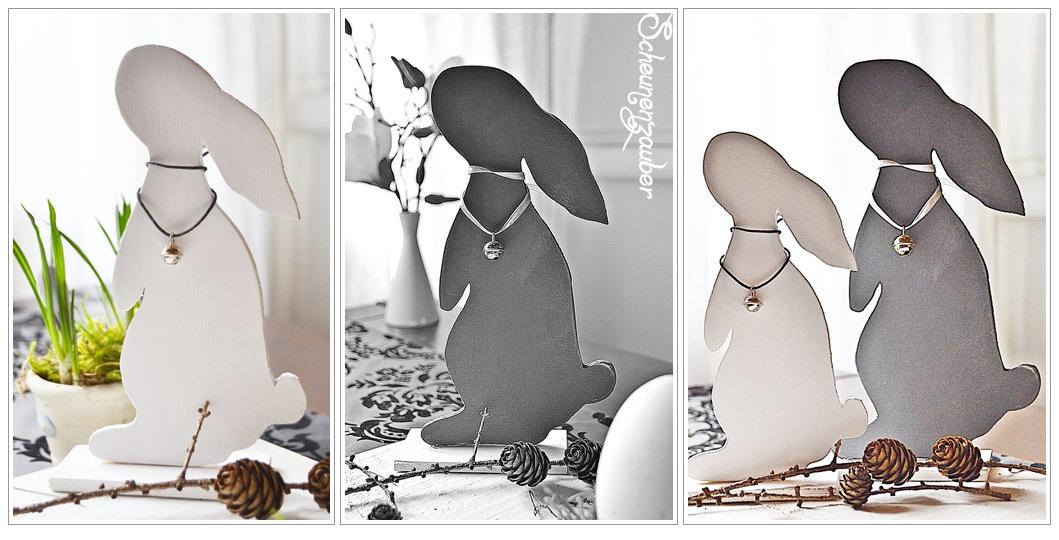 scheunenzauber diy osterhasen im shabby und vintage style. Black Bedroom Furniture Sets. Home Design Ideas