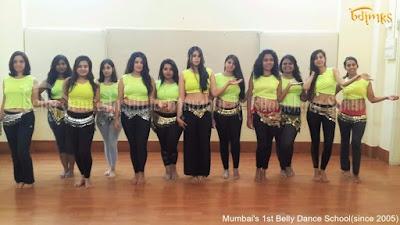 Belly Dance Institute Mumbai by Ritambhara Sahani